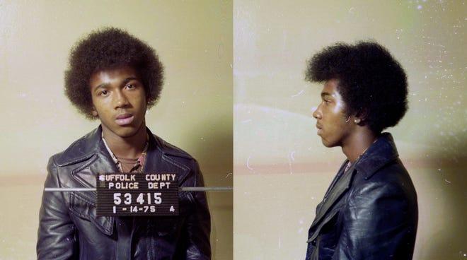 Keith Bush's 1975 mugshot