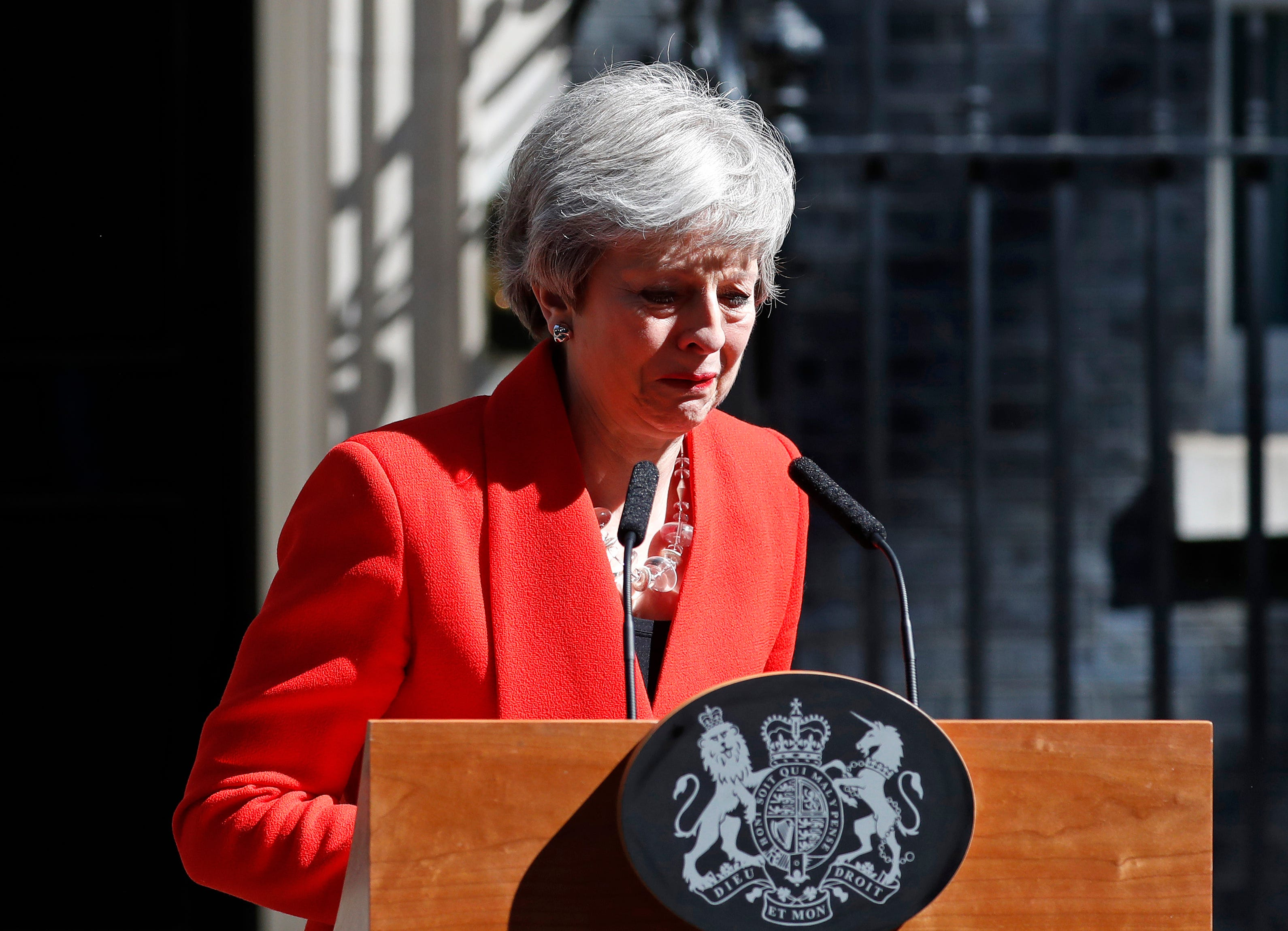 Britain's embattled leader Theresa May resigns premiership amid Brexit deadlock