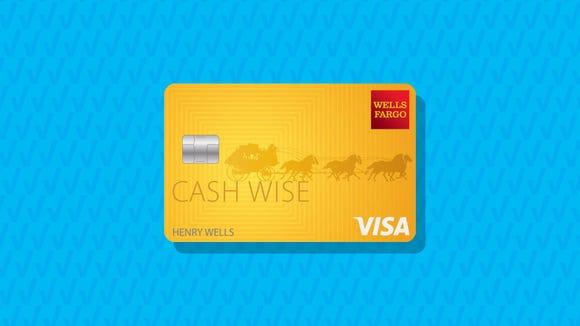 Wells Fargo Cash Wise Visa