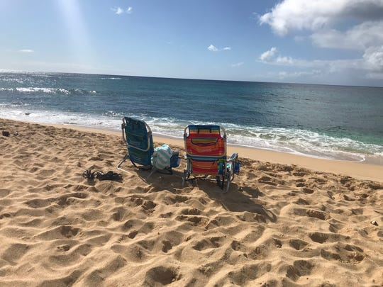 Sunset Beach, on the north shore of Oahu in Hawaii, is picture perfect any time of time.