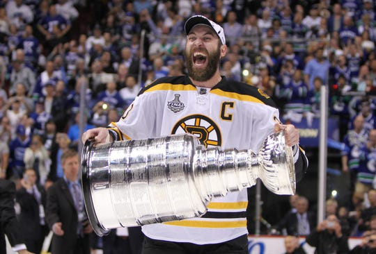 Zdeno Chara won the 2011 Stanley Cup with the Bruins.