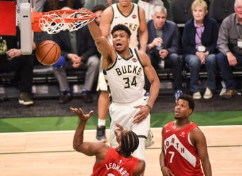What I'm Hearing: Matt Velazquez of the Milwaukee Journal Sentinel discusses the Bucks' collective mindset as they head back to Toronto facing elimination in Game 6.