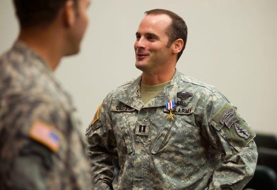 U.S Army Capt. Mathew Golsteyn in 2011.