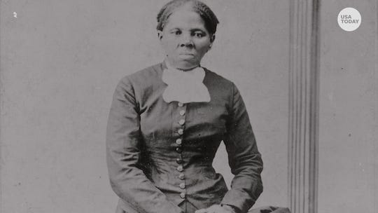 This stamp lets you put Harriet Tubman on the $20 bill in an act of 'civil disobedience'