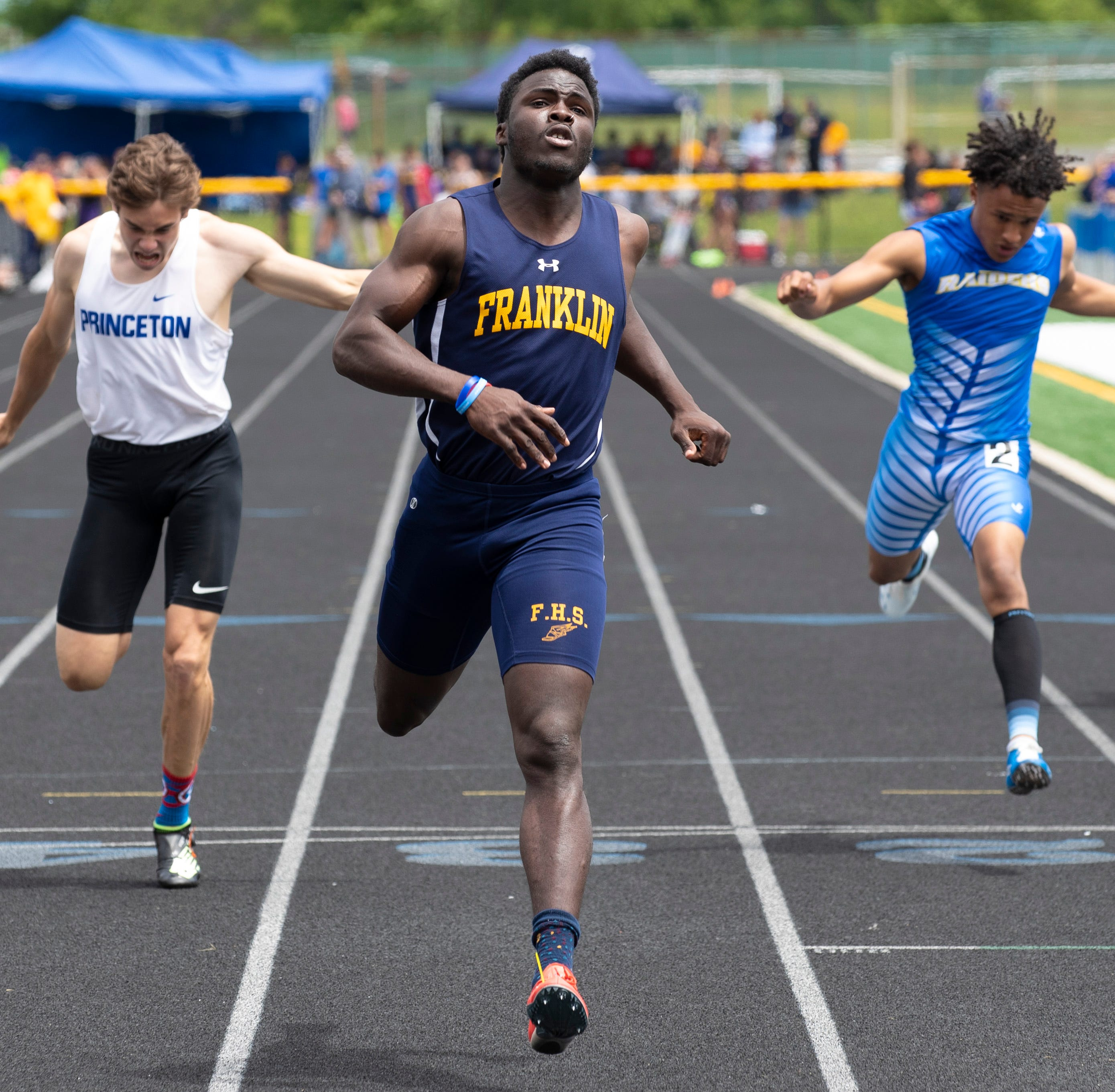 NJ track: Franklin boys, South Brunswick girls win sectional titles