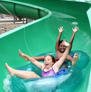 This week may be the right week to go to Adventure Cove in Abilene because high temperatures could reach 100 Wednesday through Friday.