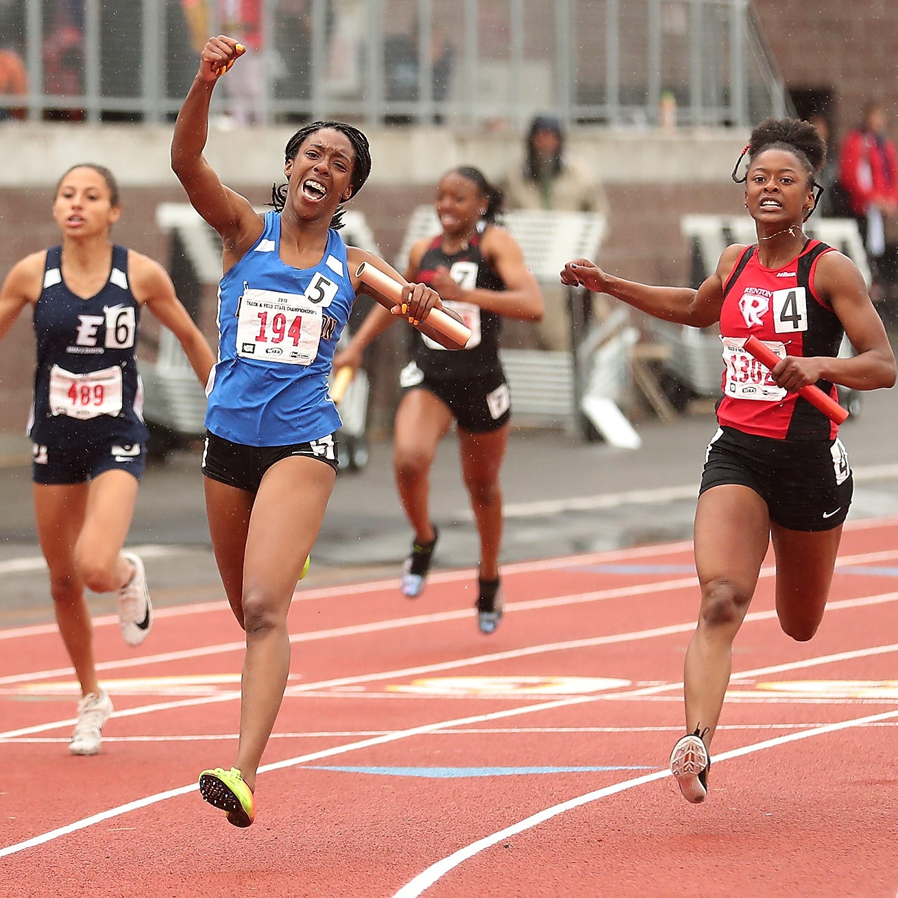 Relay teams from Bremerton and NK, CK jumper add state track and field titles