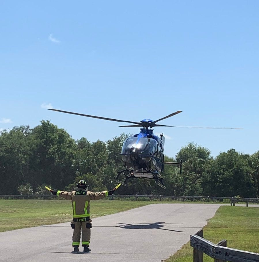 Woman airlifted after Port St. John alligator bite