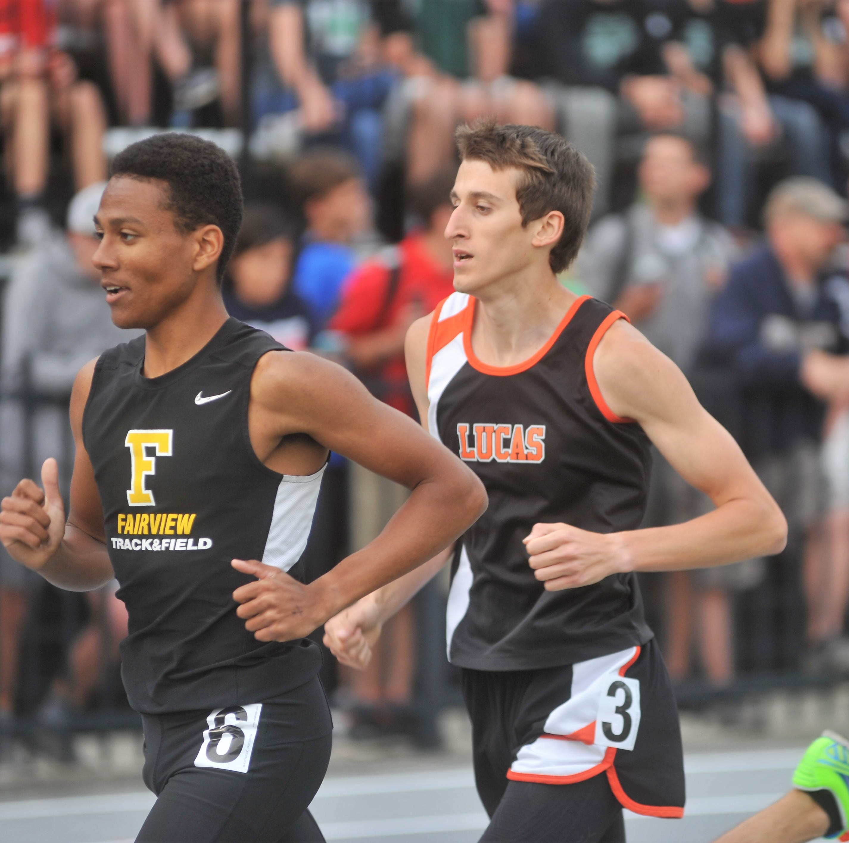 Lucas teammates win regional titles to lead state track qualifiers
