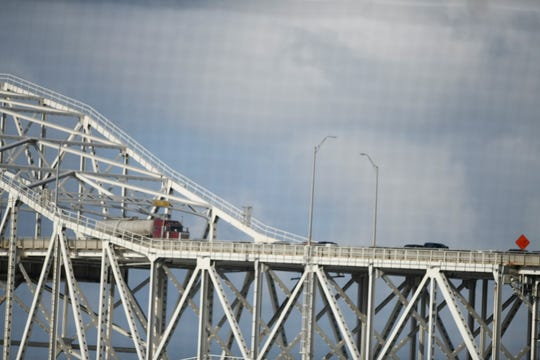 A major traffic accident has halted cars on the Harbor Bridge to a standstill Saturday afternoon.