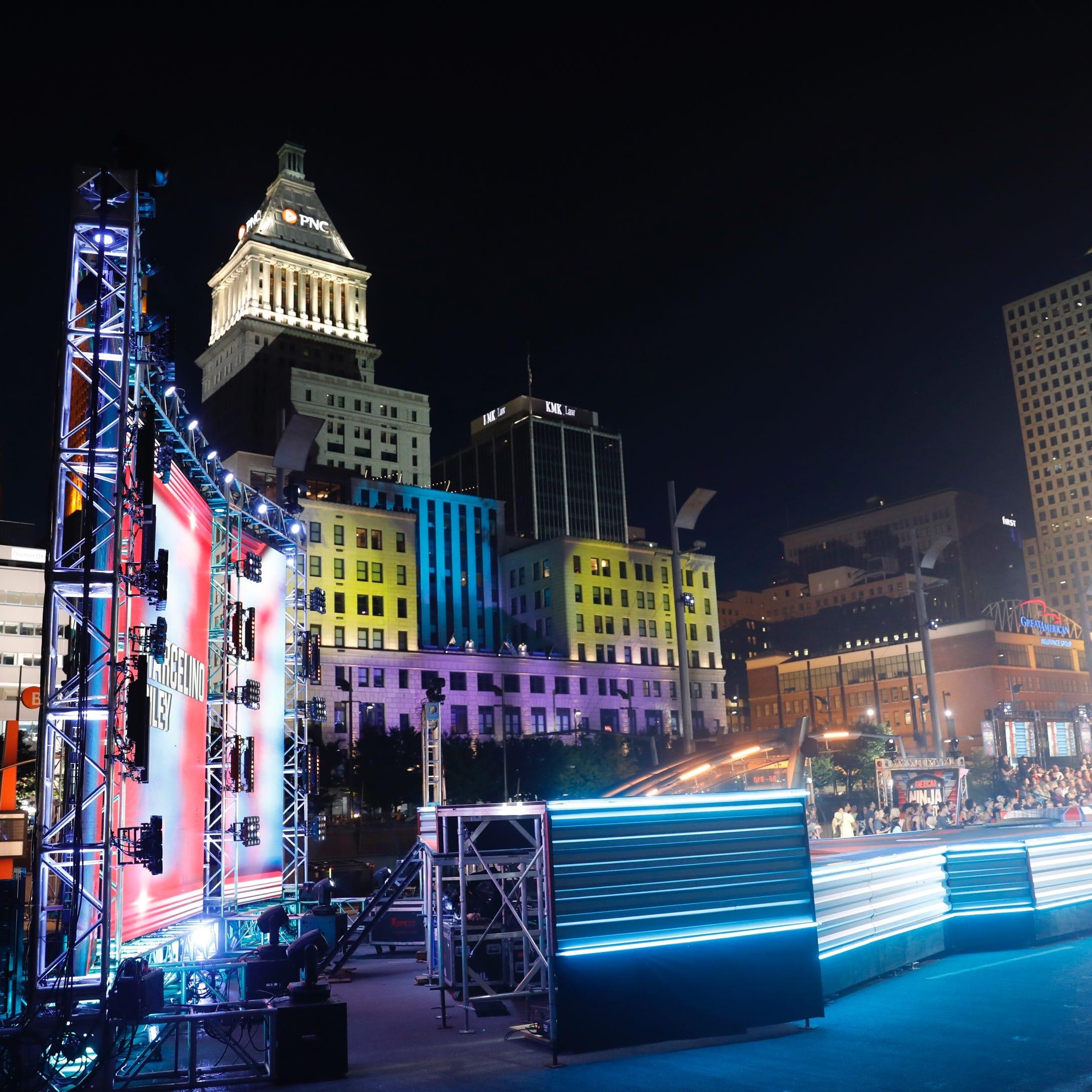 'American Ninja Warrior': Contestants' dreams of glory make a splash in Cincinnati