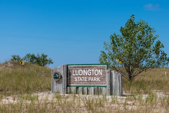 Ludington State Park in Ludington.