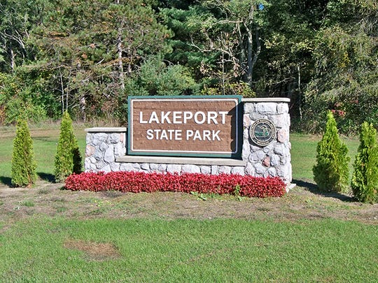 Lakeport State Park entrance in Lakeport.