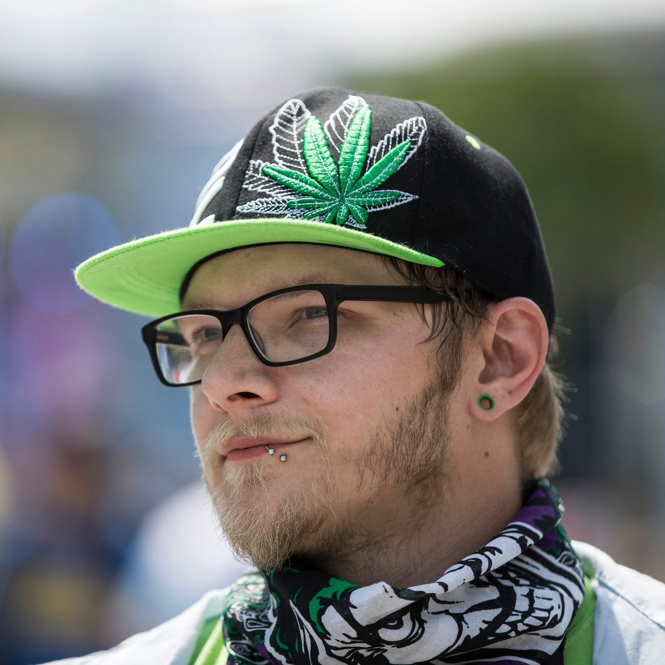 With marijuana now legal in Michigan, Movement fest dances to a slightly different beat
