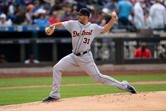 Detriot Tigers pitcher Ryan Carpenter - The Tigers have held spring training in Lakeland, FL for 84 years.