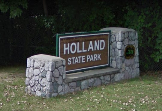 Holland State Park in Holland, Michigan.