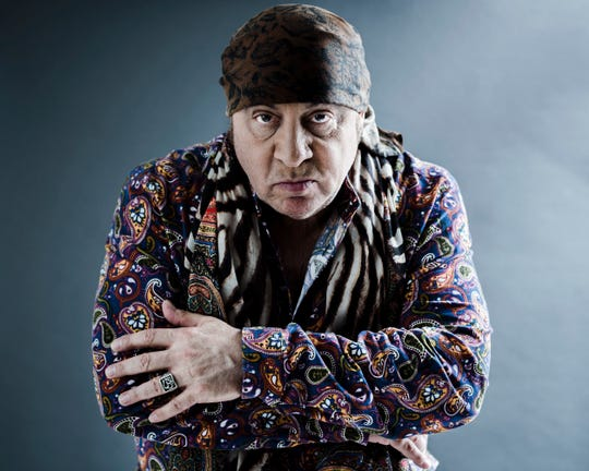 "This May 6, 2019 photo shows actor and musician Steven Van Zandt in New York. Van Zandt's new album ""Summer of Sorcery"" is a 12-track collection of original material."