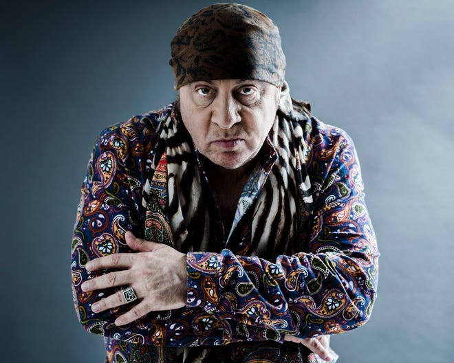 """This May 6, 2019 photo shows actor and musician Steven Van Zandt in New York. Van Zandt's new album """"Summer of Sorcery"""" is a 12-track collection of original material."""