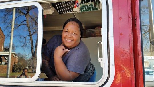 LaTonya Davis of Divas Cookin' food truck has your fish, chicken, fries and bbq.