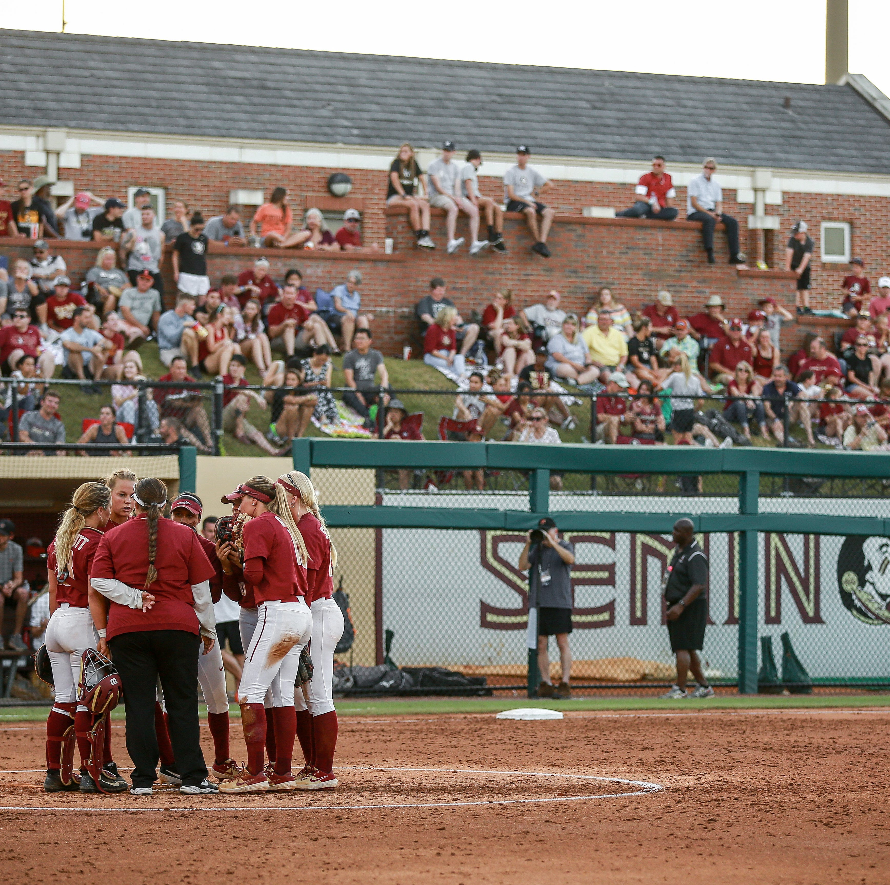 'Noles softball evens up series with game two win