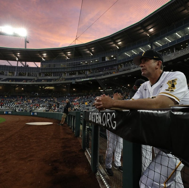 Iowa baseball: Offense sputters as Hawkeyes' season ends in Big Ten Tournament