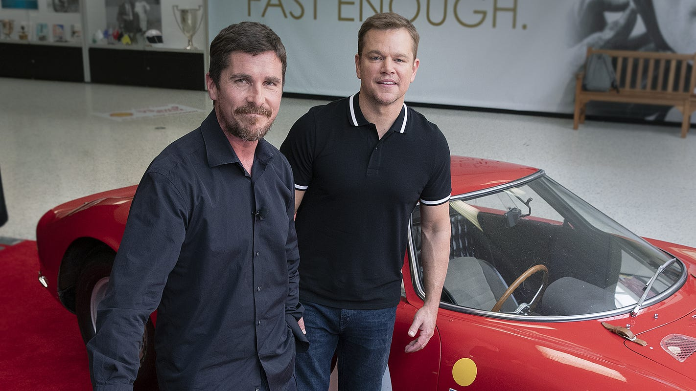 Matt Damon, Christian Bale geared up for roles as Indy 500 honorary starters
