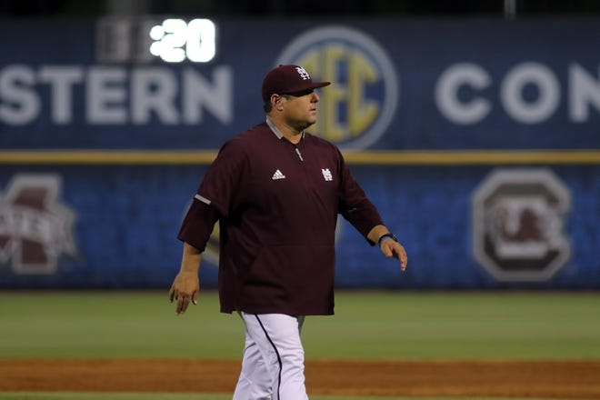 Mississippi State head coach Chris Lemonis and his Bulldogs are walking out of Hoover with a 1-2 record in the SEC Tournament.