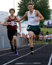 Fisher Catholic senior Daniel Turner was the Mid-State League-Cardinal Division Most Outstanding Performer.