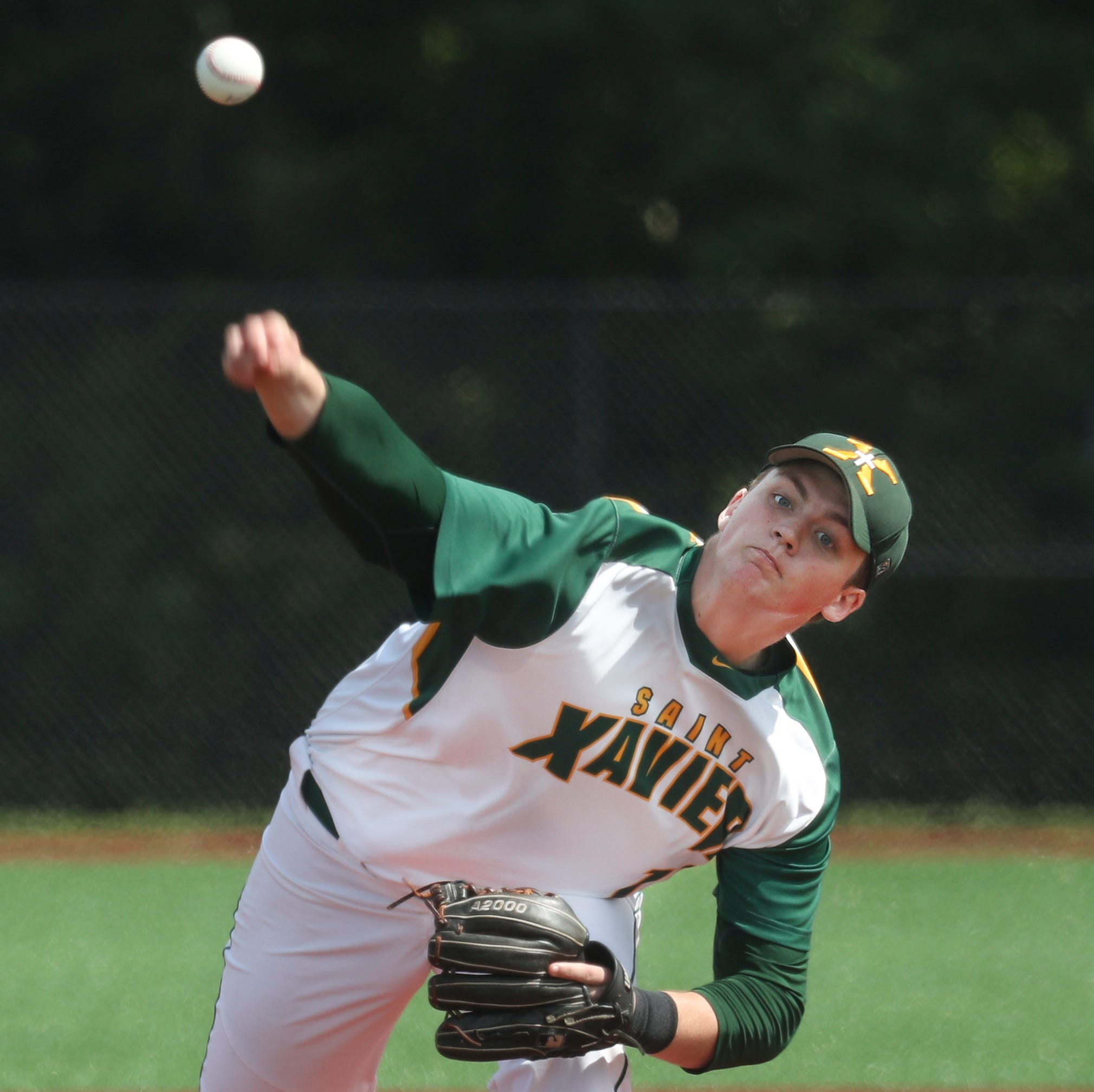 Bellarmine-bound Nelson fires two-hitter as St. X tops Ballard in Seventh Region