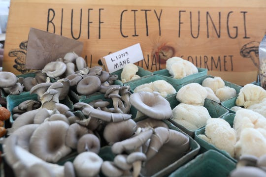 Bluff City Fungi offers a selection of exotic mushrooms.