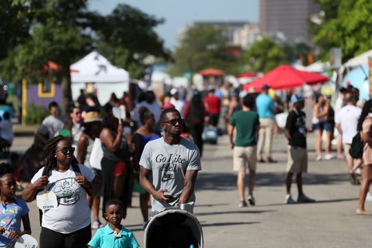 Scenes from Celebrate Memphis at Tom Lee Park, the culmination of Memphis in May festivities on Saturday, May 25, 2019.