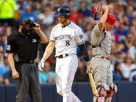 Phillies 7, Brewers 2: Offensive frustrations mount against Arrieta, wide strike zone