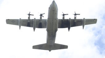 Memorial Day weekend festivities i Morris Plains included a ceremony, a parade and a flyover by a C 130 transport plane. May 25, 2019