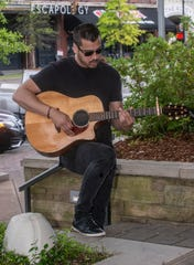 Country artist Michael Zaib visits The Exchange in downtown Montgomery.