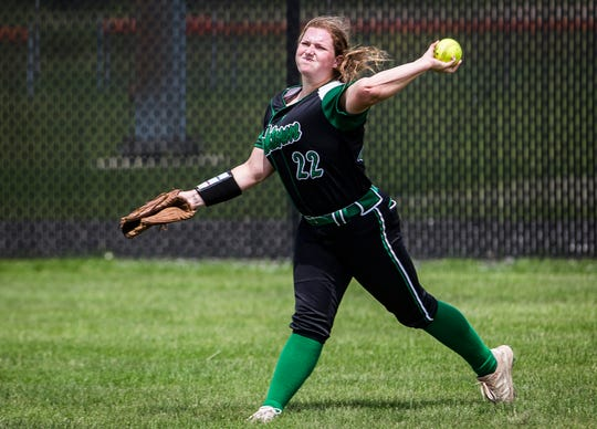FILE -- Caitlyn Grim and the Yorktown Tigers are now one win away from a state title. Yorktown defeated Benton Central for a semi-state championship.