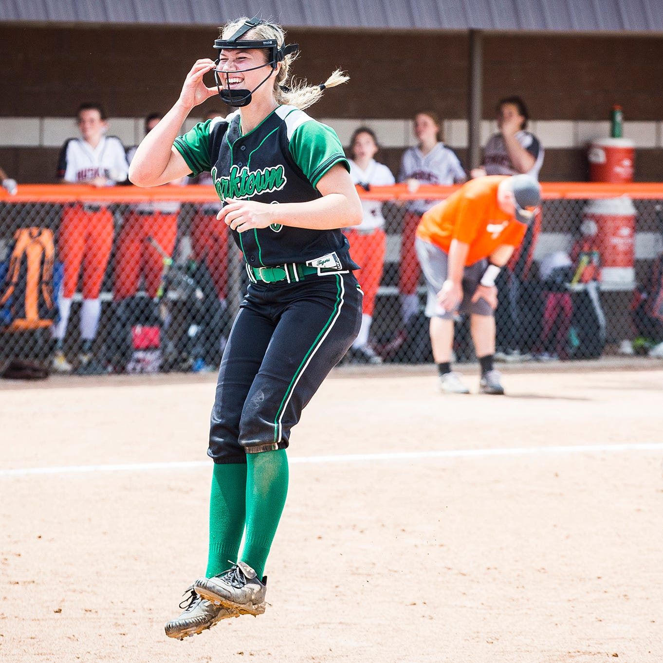 'That's a movie right there': Yorktown softball's unlikely hero leads Tigers to sectional title