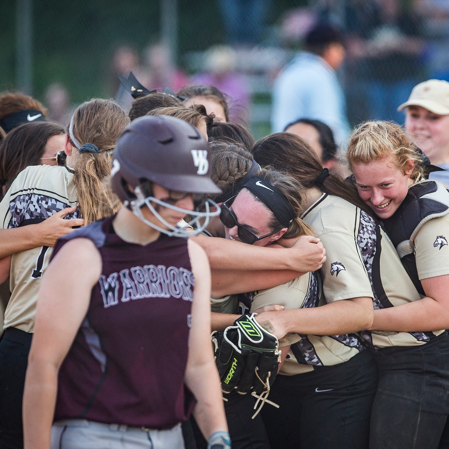 Daleville softball tops Wes-Del for Class A sectional title