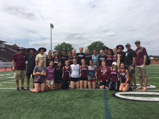 The Ridgewood girls repeated as NJSIAA Group 4 Sectional champions on Saturday at Clifton School Stadium.