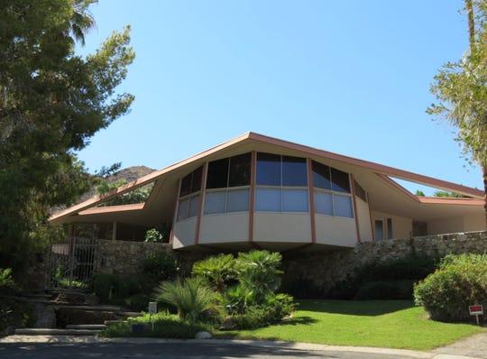 Elvis Presley's honeymoon hideaway is located at 1350 Ladera Circle in Palm Springs.