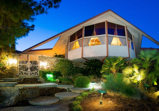 A Palm Springs home once leased to Elvis Presley is on the market at $9.5 million.