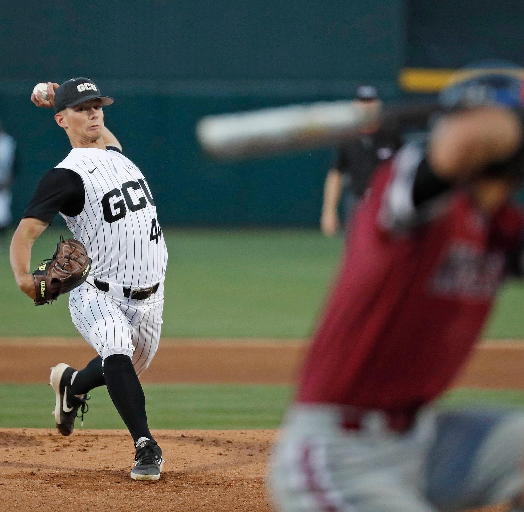 New Mexico State baseball falls into WAC Tournament loser's bracket