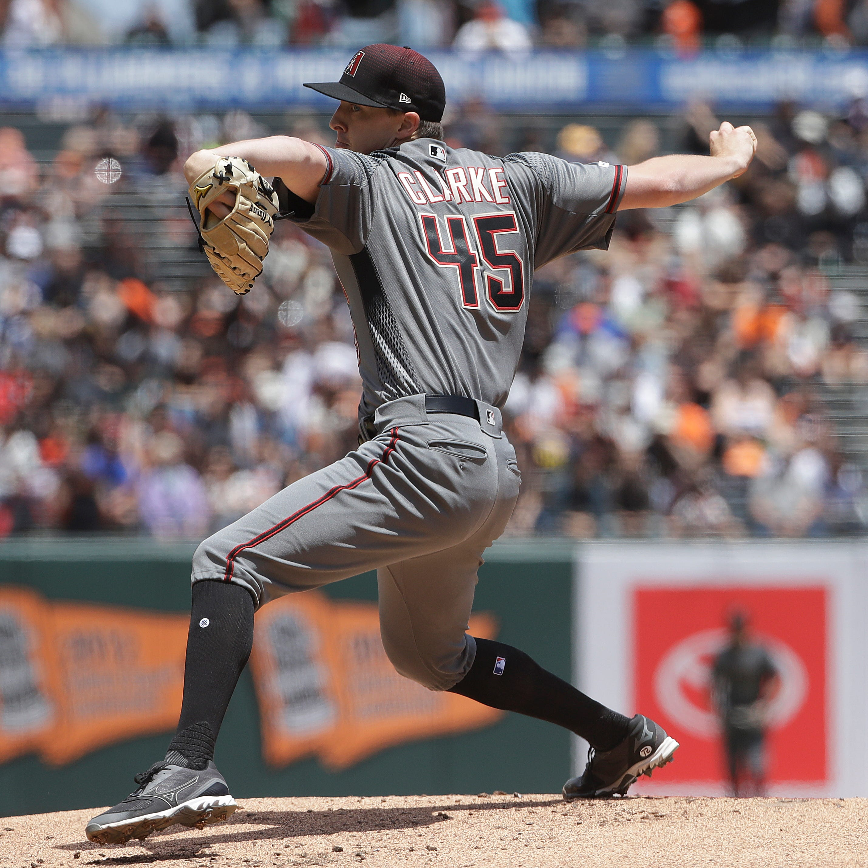 Taylor Clarke in line to likely stick in Diamondbacks' rotation