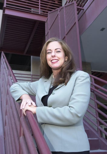 Cari Gerchick was a former president of the Maricopa Chapter of Arizona Women Lawyers Association, and director of public affairs at the Clerk of Superior Court. She is pictured here January 15, 2004.