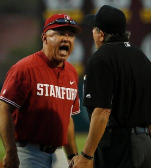 Stanford coach David Esquer leads the No. 9 seed Cardinal into the Lubbock Super Regional against No. 8 seed Texas Tech that starts Friday.  Esquer is in his fourth year since taking over for 41-year Stanford coach Mark Marquess, a newly selected member of the National College Baseball Hall of Fame.
