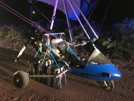 Border Patrol agents in Nogales and Tucson seized on Thursday an ultralight aircraft that crossed the border illegally carrying nearly 150 pounds of drugs worth almost $500,000.