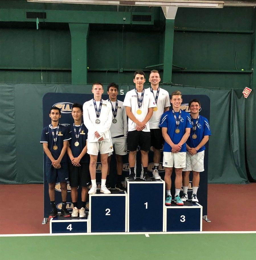 POSTSEASON ROUNDUP: Cedar Crest's Tull, Muraika take third at state doubles