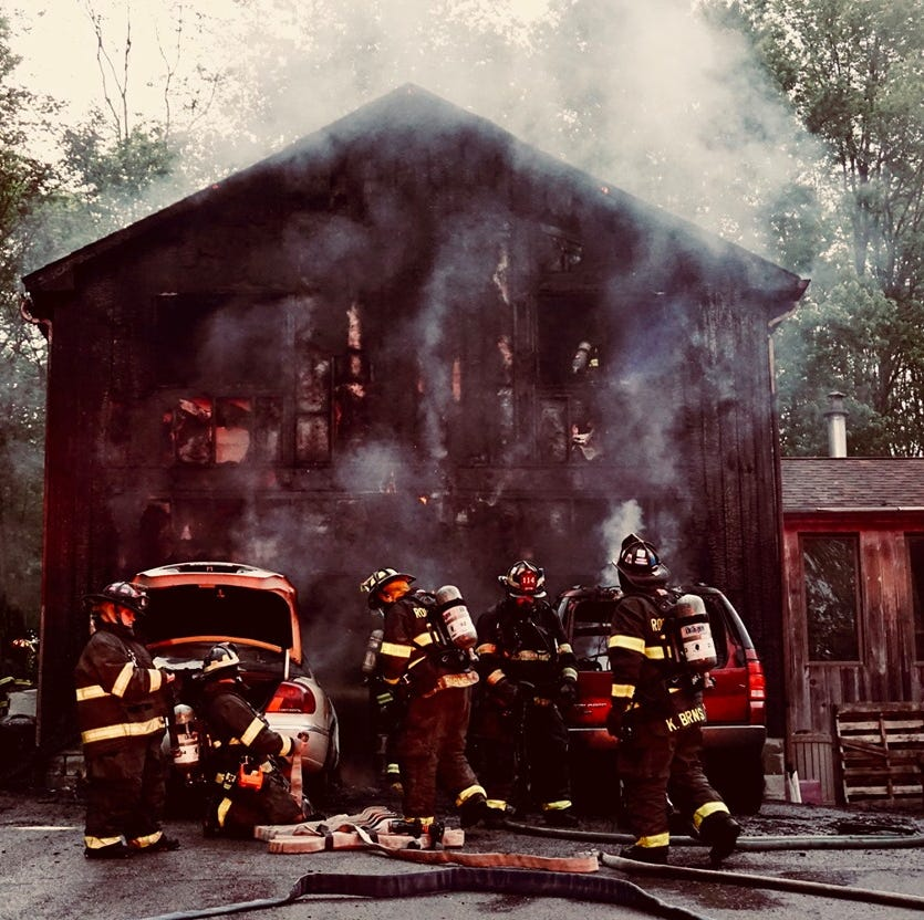 Salt Point family displaced by Friday night fire, no injuries: fire chief