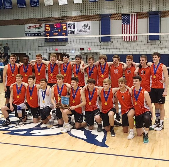 Central York beats State College 3-1 to win its 24th District 3 boys' volleyball crown