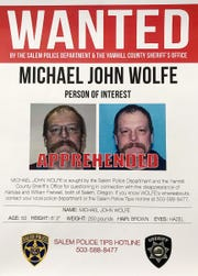 Missing Salem mom: Michael Wolfe in custody, faces aggravated murder charges, search continues
