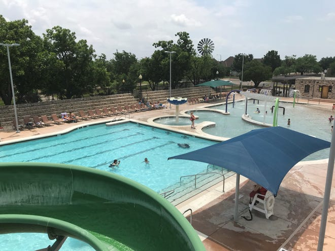 Kids and families enjoy opening day of Municipal Pool Saturday, May 25, 2019.